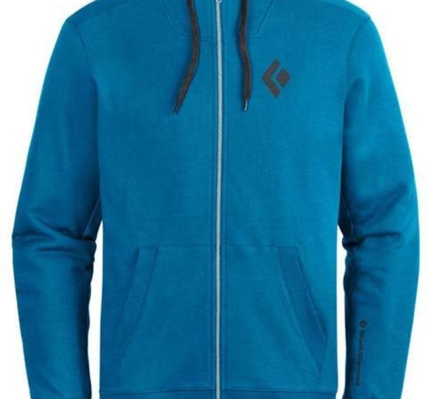 Men's Full Zip Logo Hoody