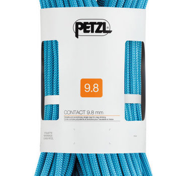 Petzl Contact 9.8mm Climbing Rope Standard Turqoise