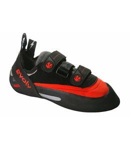 Evolv Bandit Climbing Shoes- Red- 6