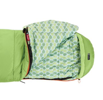 Nemo Kid's Punk 20 Sleeping Bag Sprout/Birch Leaves