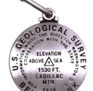 Geographic Locations International Geological Survey Marker