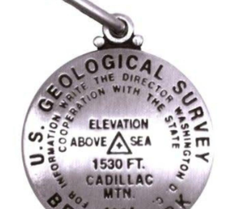 Geological Survey Marker