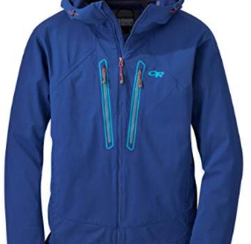 Outdoor Research Men's Iceline Jacket- Baltic/Typhoon- S