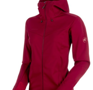 Mammut Women's Ultimate V SO Hooded Jacket