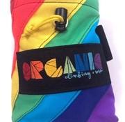 Organic Climbing Large Chalk Bag with Belt-Rainbow