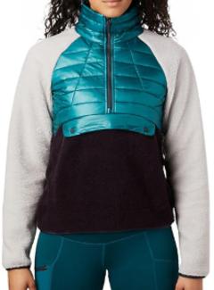 Mountain Hardwear Women's Altius Hybrid Pullover