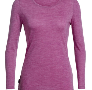 Icebreaker Women's Sphere Long Sleeve Low Crew