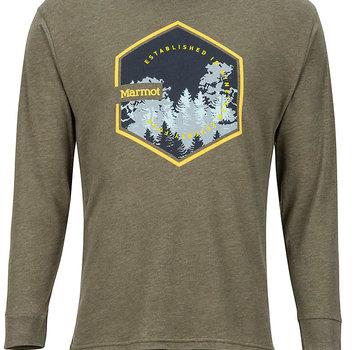 Marmot Men's Deep Forest Long-Sleeve Tee