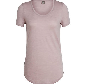 Icebreaker Women's Solace Short Sleeve Scoop