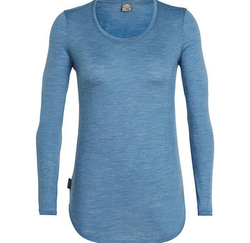 Icebreaker Women's Solace Long Sleeve Scoop