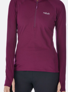 Rab Women's Flux Pull-On Long Sleeve