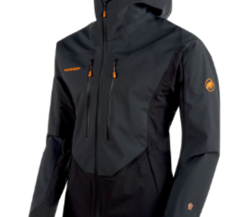 Mammut Men's Eisfeld Guide SO Hooded Jacket