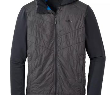 Outdoor Research Men's Vigor Hybrid Hooded Jacket Black/Storm