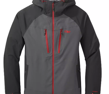 Outdoor Research Men's Skyward II Jacket- Storm/Black- S