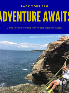 Acadia Mountain Guides AMG Camp- Young Explorers Rock Stars