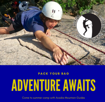 Acadia Mountain Guides AMG Camp- Rock Pro 1 and 2- New Hampshire