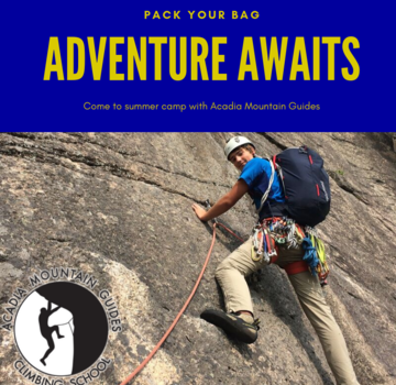Acadia Mountain Guides AMG Camp- Rock Pro 4- Maine/ New Hampshire