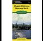 National Geographic Allagash Wilderness Waterway North Map