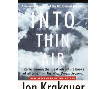 RANDOM HOUSE Into Thin Air - Paperback Book