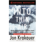 Into Thin Air - Paperback Book