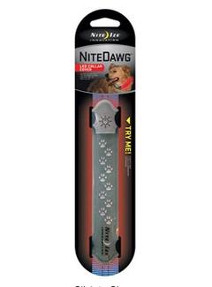 NITE IZE Nite Dawg LED Collar Cover Gray