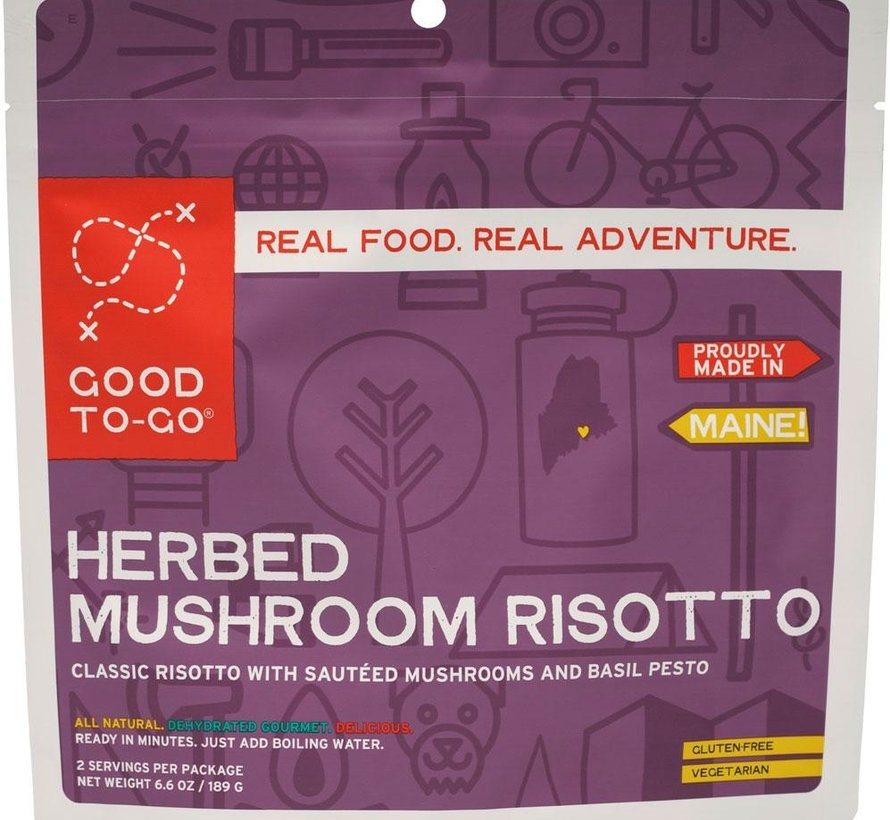 Herbed Mushroom Risotto Dehydrated Meal