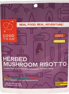 Good To-Go Herbed Mushroom Risotto Dehydrated Meal