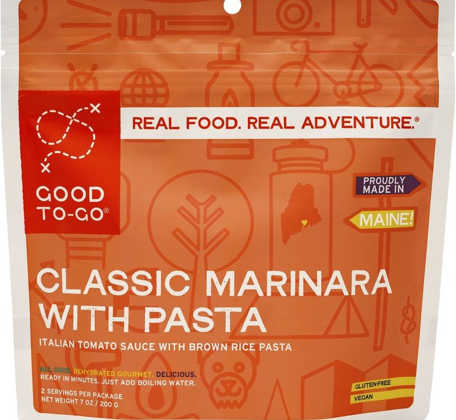 Marinara With Penne Dehydrated Meal