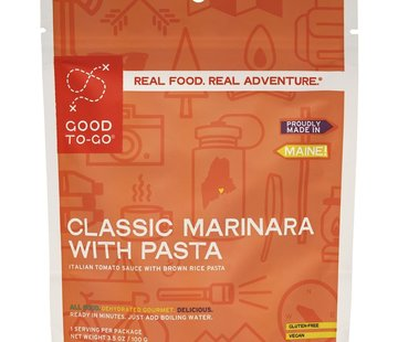 Good To-Go Marinara With Penne Dehydrated Meal