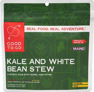 Good To-Go Kale and White Bean Stew Dehydrated Meal