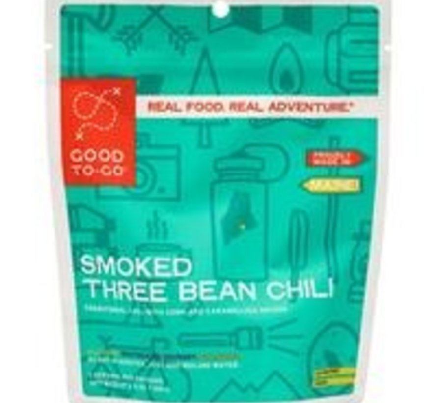 Smoked Three Bean Chili Dehydrated Meal
