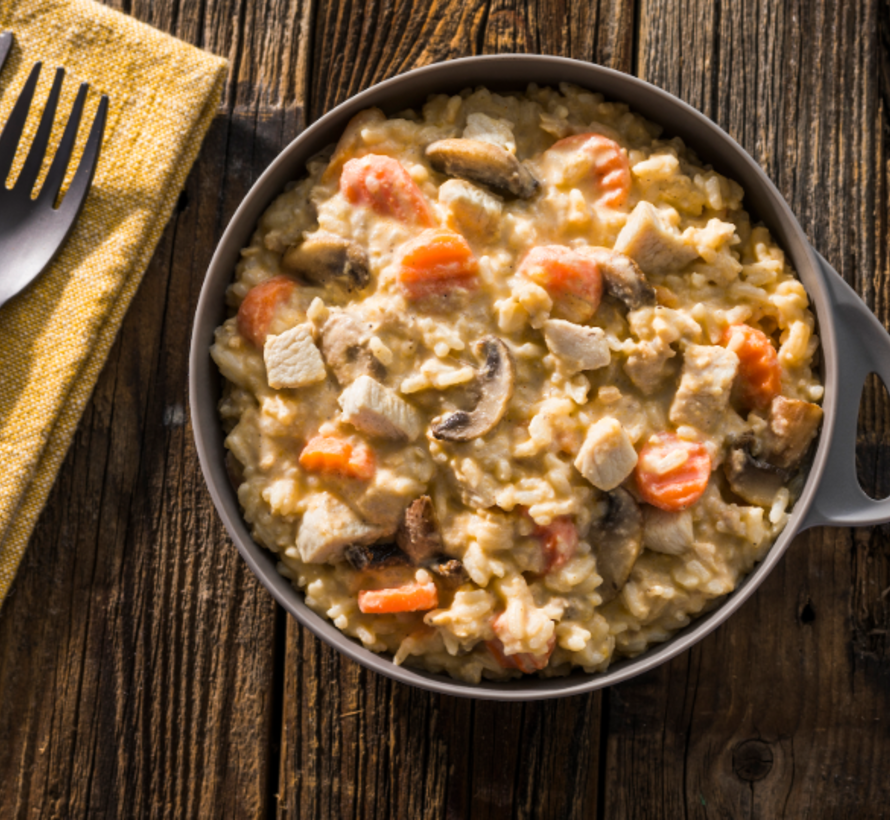 Homestyle Chicken & Rice Dehydrated Meal
