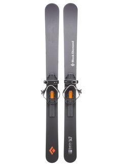 Black Diamond GlideLite 147 Trek Skis With Binding