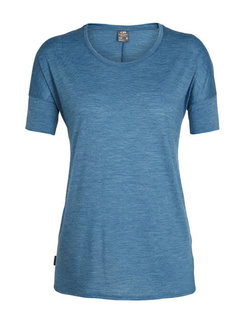 Icebreaker Women's Solace Short Sleeve Low Crewe