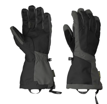 Outdoor Research Men's Arete Gloves-Black/Charcoal-L