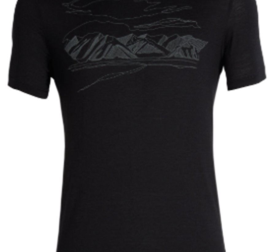 Men's Tech Lite Short Sleeve Crewe Coronet Peak