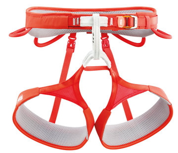 Petzl Hirundos Climbing Harness Red