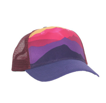 Locale Outdoors Fushia Range Trucker Cap
