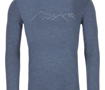 Ortovox Men's 185 Merino Mountain Long Sleeve Shirt