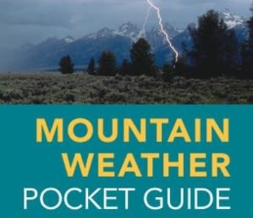 Mountaineers Books Mountain Weather Pocket Guide