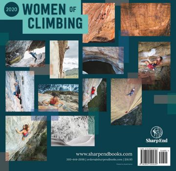 Sharp End Publishing Women of Climbing 2020 Wall Calendar