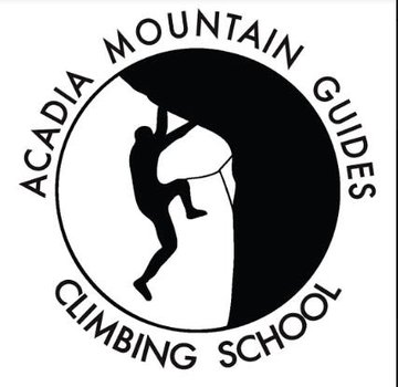 Acadia Mountain Guides Kid's Logo Short Sleeve Shirt gray