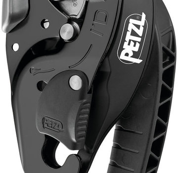 Petzl I'D® S Self Braking Descender Black