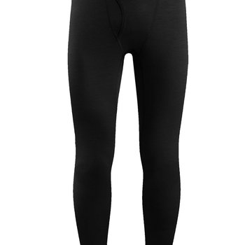 Icebreaker Men's Oasis Leggings with Fly Baselayer- XXL Black