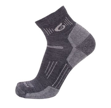 Point6 37.5 Hiking Light Mini Crew Sock Gray