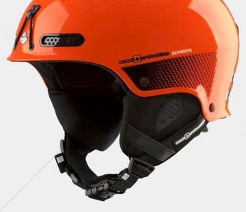 Sweet Protection Igniter Alpiniste Ski and Climbing Helmet Orange S/M