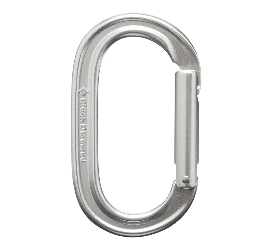 Oval Keylock Carabiner- Polished
