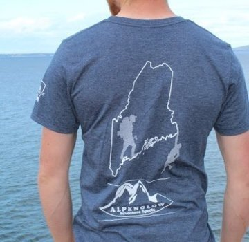 Mount Inspiration Alpenglow Adventure Sports Maine T-Shirt