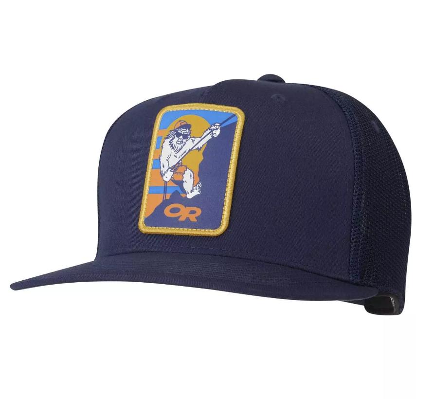 Squatchin' Trucker Cap - Ink