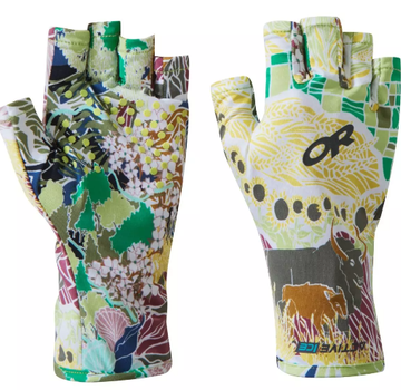 Outdoor Research Activeice Spectrum Sun Gloves, Printed